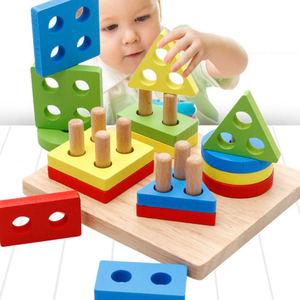 2018 Kids Learning Education Wooden Toys