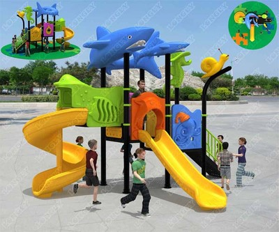 LL-210035 Child Care Center Outdoor Slide