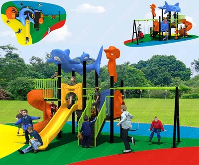 LL-210041 Children Outdoor Playground for Preschool