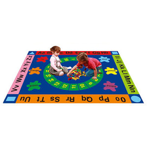 Kids Letters and Numbers  Learning Carpets