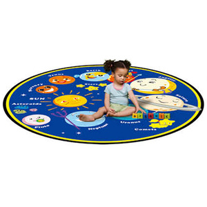 Planets Kids Learning Carpets