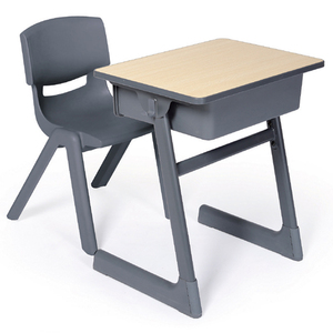 LL4-018 School Furniture School Desk and Chair for Students