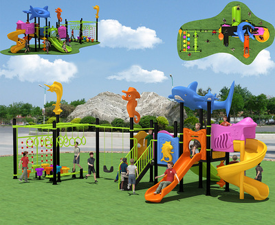 LL-210033 Children Outdoor Playground Slide for Sell