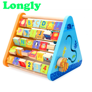 Early teaching wooden toys for kids
