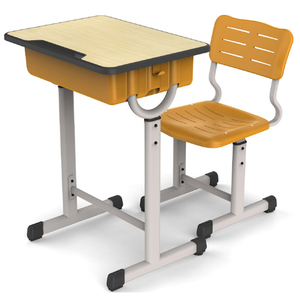 LL-A310022 High quality school desk and chair for student furniture