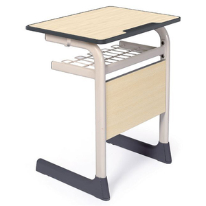 LL4-033 School Desk and Chair Fixed Student Chair and Desk Set